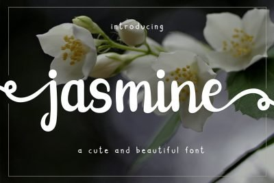 jasmine cute font
