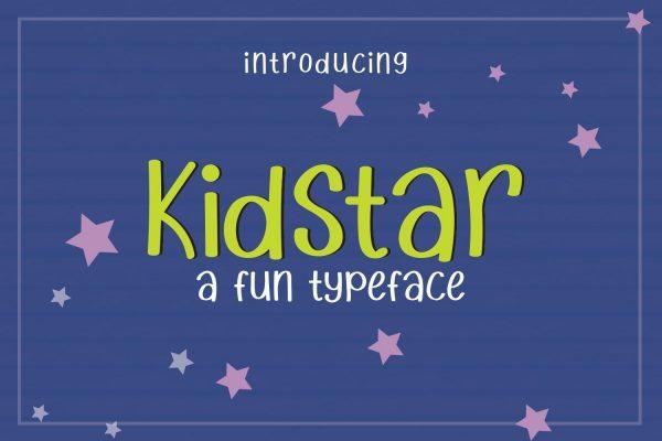 kidstar baby font