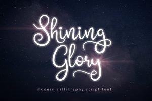 shinning-glory-modern-script-font-