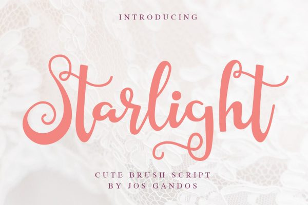 starlight font preview