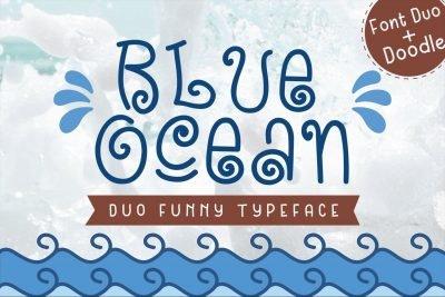 Blue Ocean Baby Font