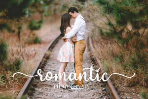 red rose romantic script font 2