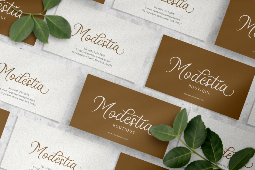 stellina calligraphy script font 9