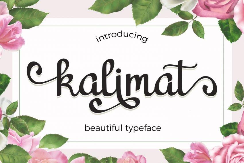 beautiful handwritten font